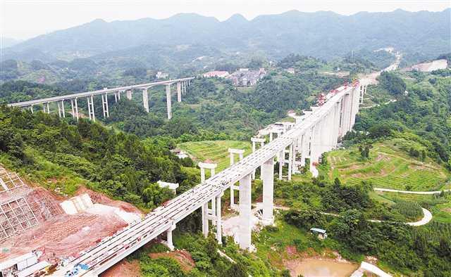 重庆三环高速明年全面建成