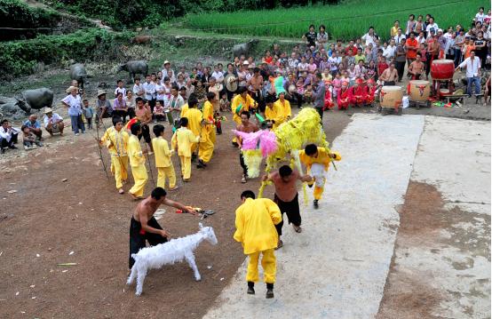 秀山苗族羊马节上榜国家非物质文化遗产目录